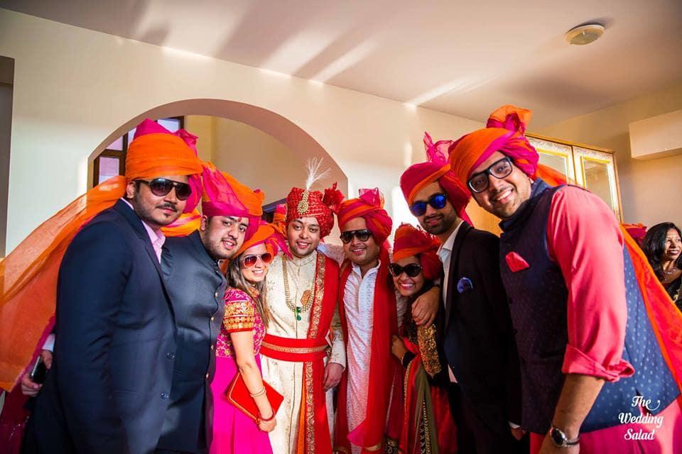 the groom!:priyal prakash house of design, the wedding salad, manish malhotra, anita dongre, gaurav gupta designer