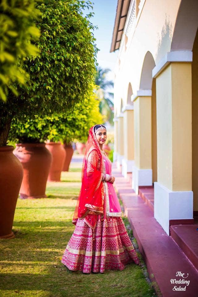 the royal bride!:priyal prakash house of design, the wedding salad, manish malhotra, anita dongre, gaurav gupta designer