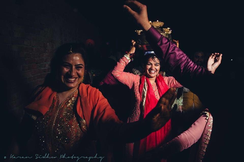 the wedding celebrations!:karan sidhu photography