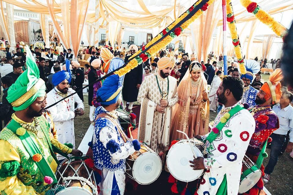 the grand wedding!:karan sidhu photography