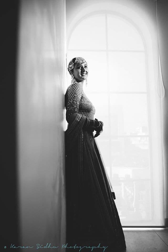 the beautiful bride!:karan sidhu photography
