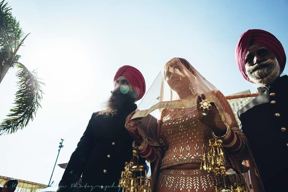 the pretty bride!:karan sidhu photography