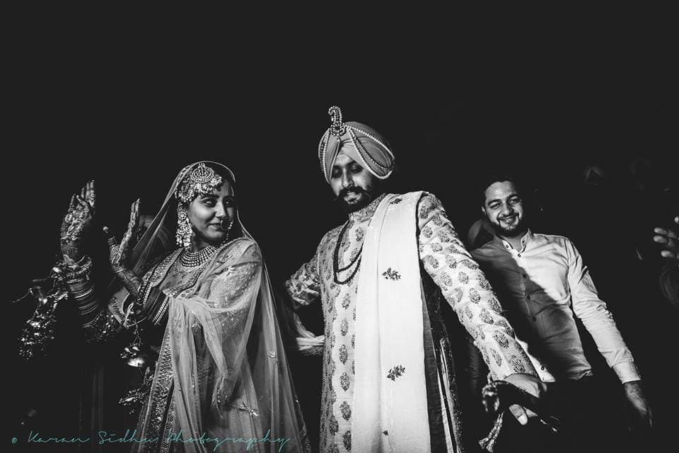 the lovebirds!:karan sidhu photography