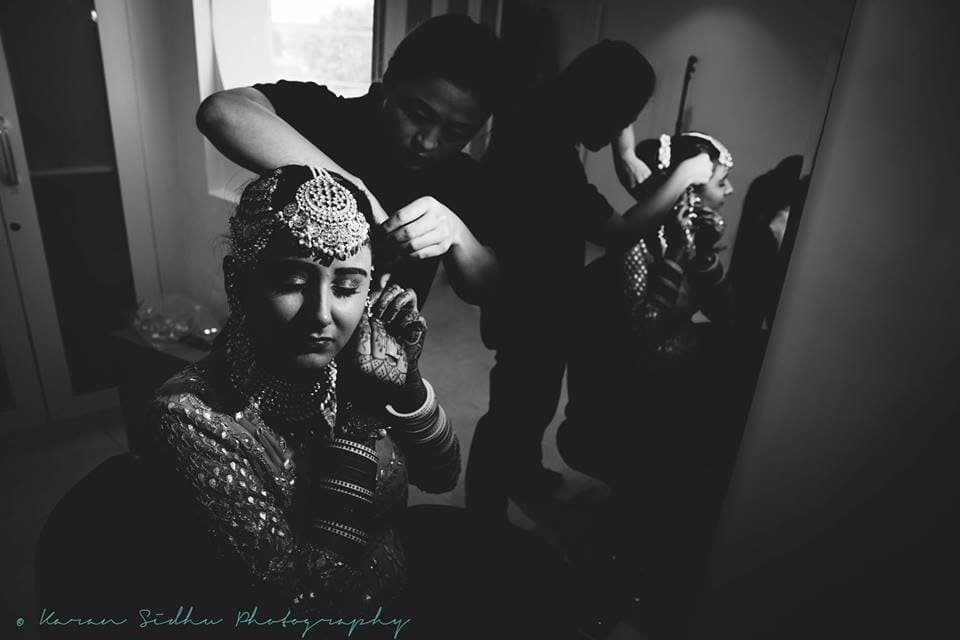 the bride!:karan sidhu photography