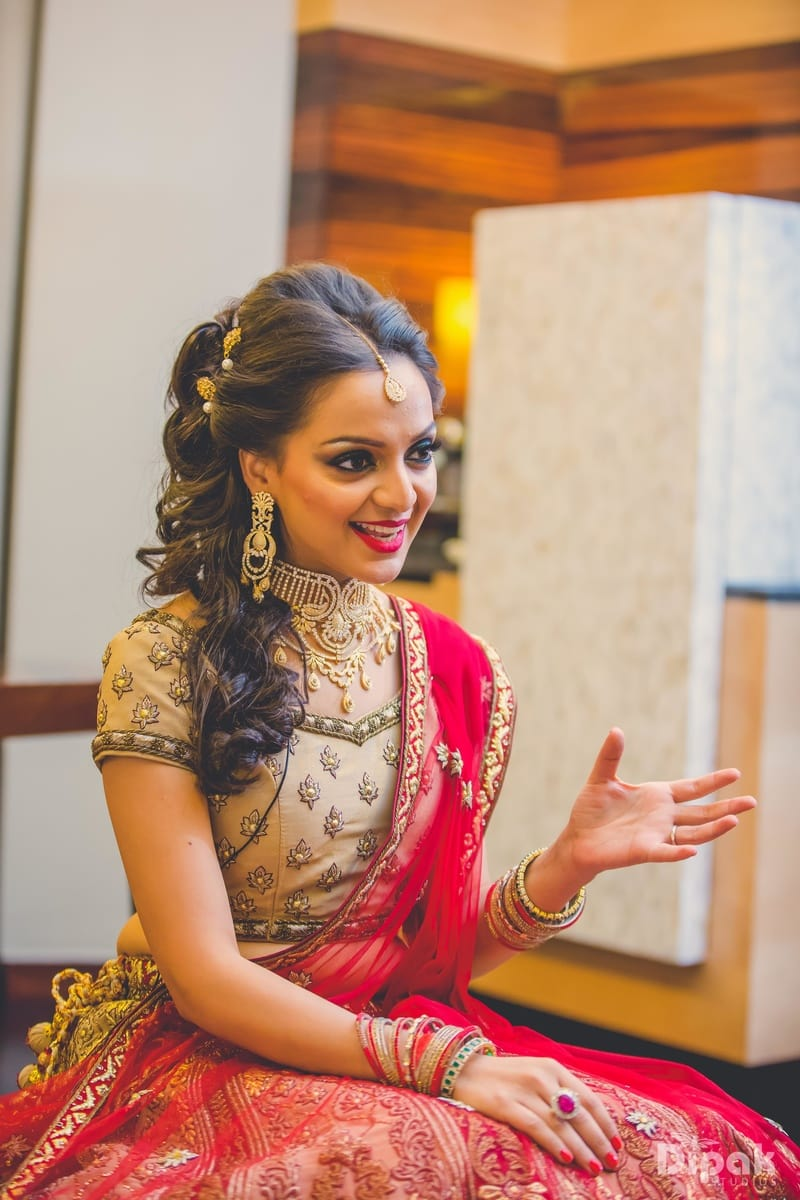 the bride kanika!:dipak studios wedding photography