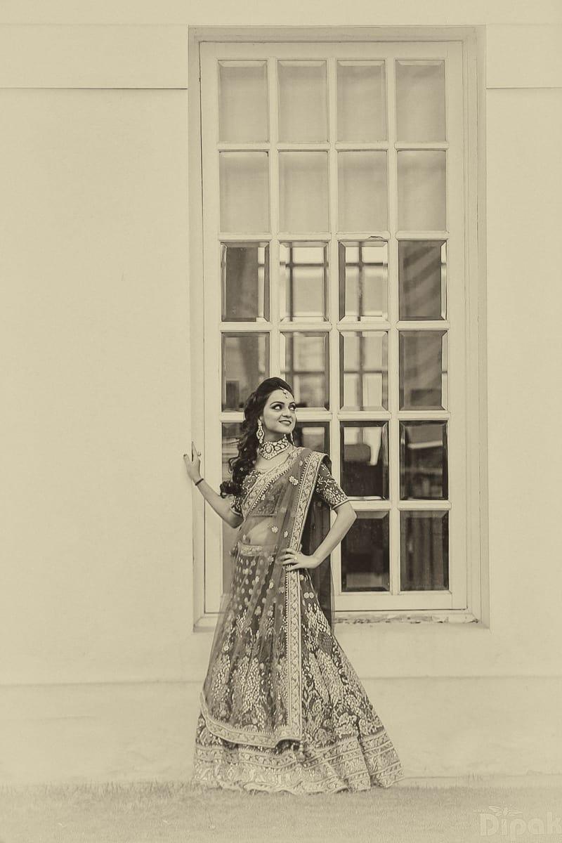 the classy bride!:dipak studios wedding photography