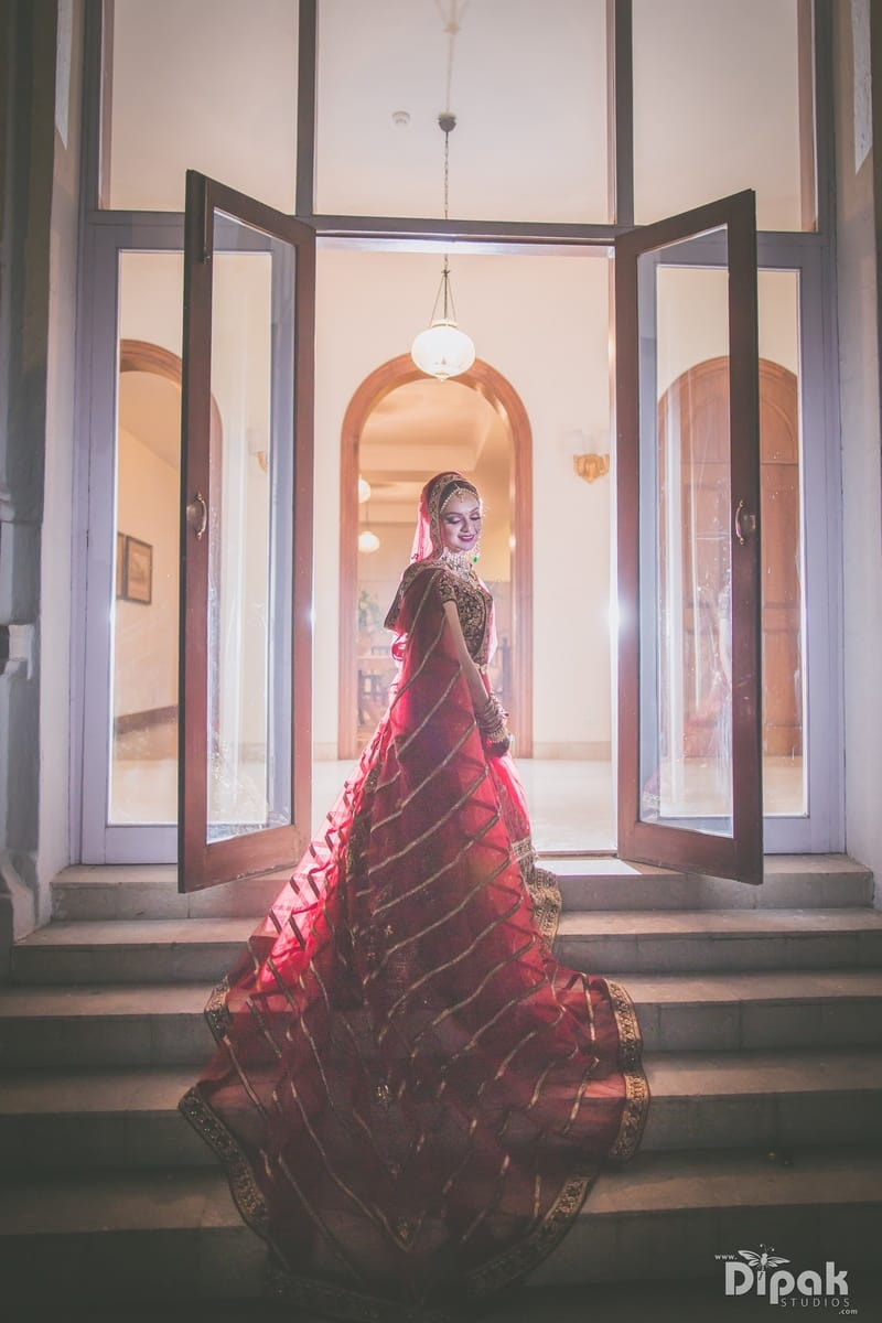 the ethereal bride!:dipak studios wedding photography
