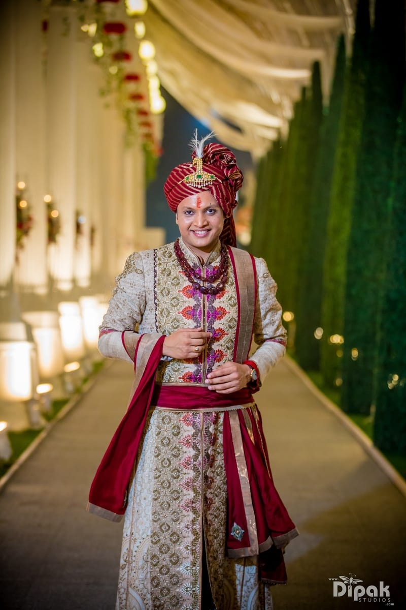 the groom nipun!:dipak studios wedding photography