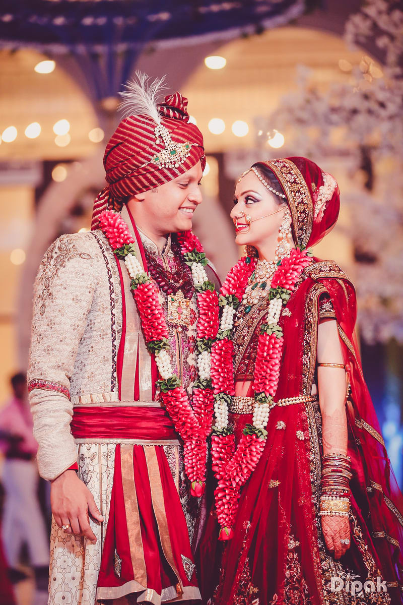 made for each other!:dipak studios wedding photography