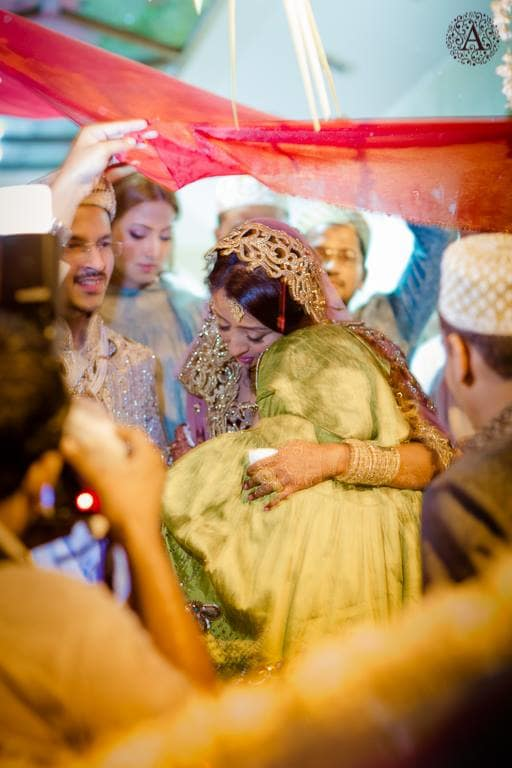 brides bidaai ceremony:amour affairs