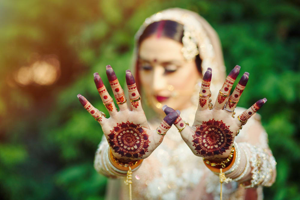 the bridal mehandi!: