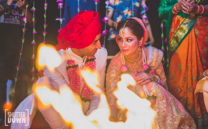 arjun & charasmita!:shutterdown photography, sakshi sood makeup artist and hair stylist