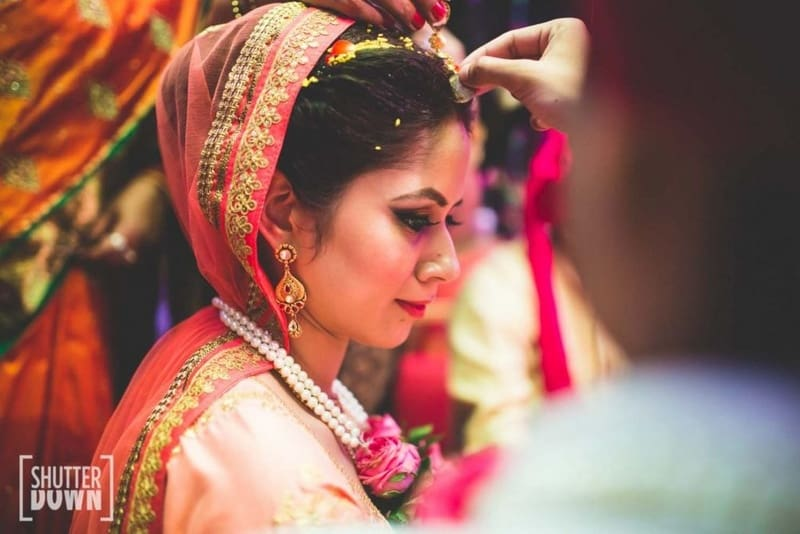 the wedding rituals!:shutterdown photography, sakshi sood makeup artist and hair stylist