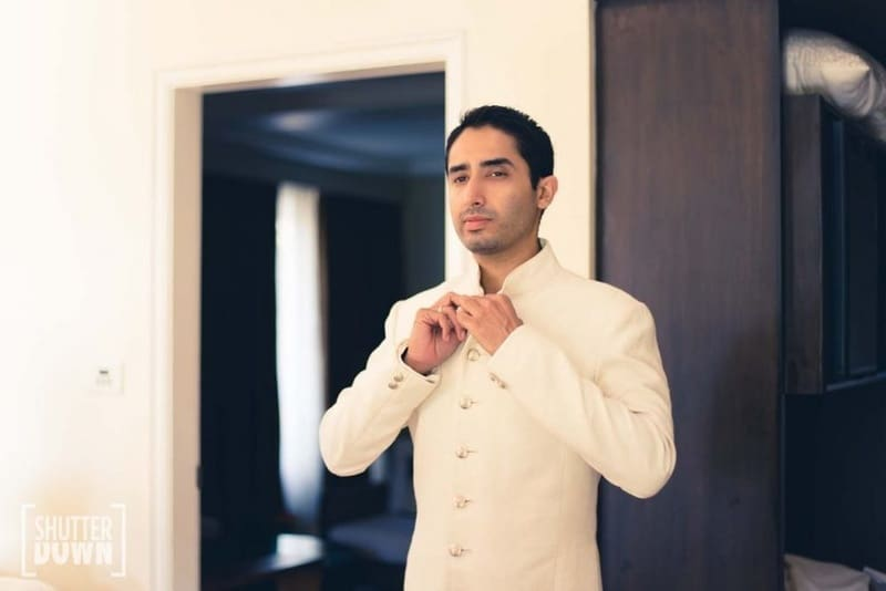 the dapper groom!:shutterdown photography, sakshi sood makeup artist and hair stylist