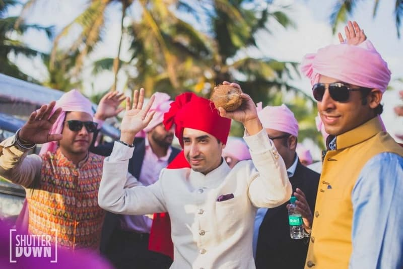 the groom arjun!:shutterdown photography, sakshi sood makeup artist and hair stylist