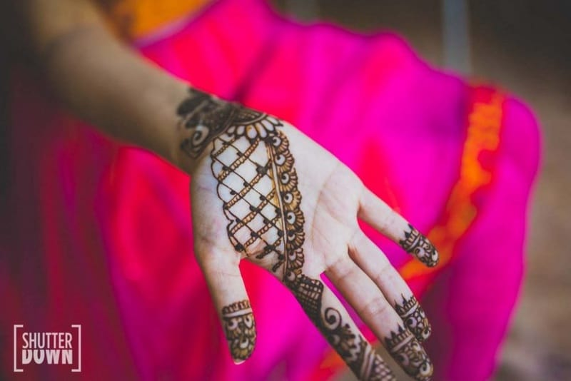 the bridal mehandi!:shutterdown photography, sakshi sood makeup artist and hair stylist