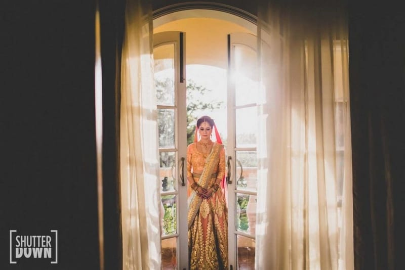 the fairytale bride!:shutterdown photography, sakshi sood makeup artist and hair stylist