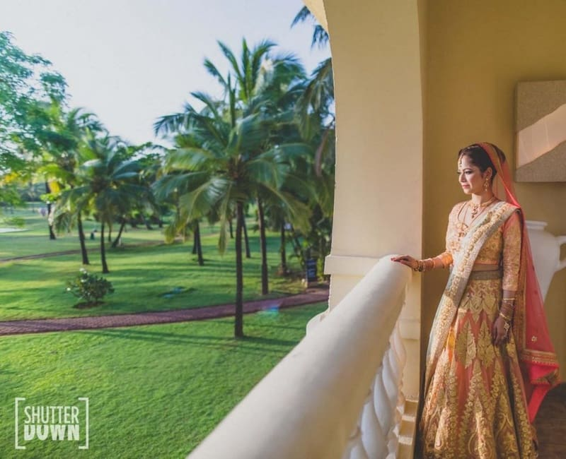 the gorgeous bride!:shutterdown photography, sakshi sood makeup artist and hair stylist