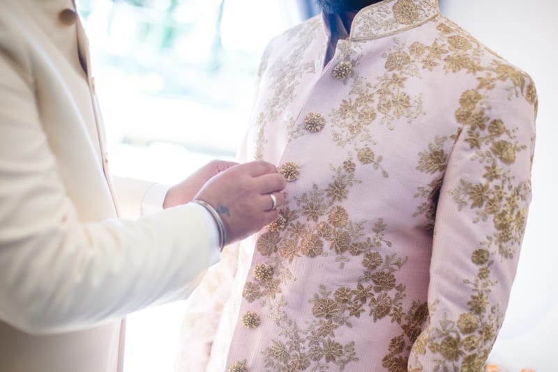 the groom sherwani!: