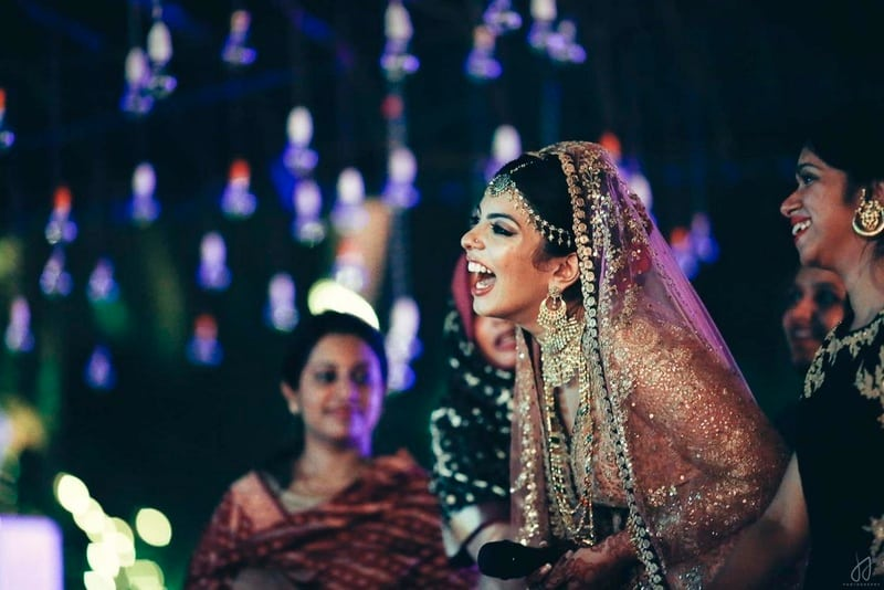the gorgeous bride!:amrapali jewellery, bhima jewellers, dolly j