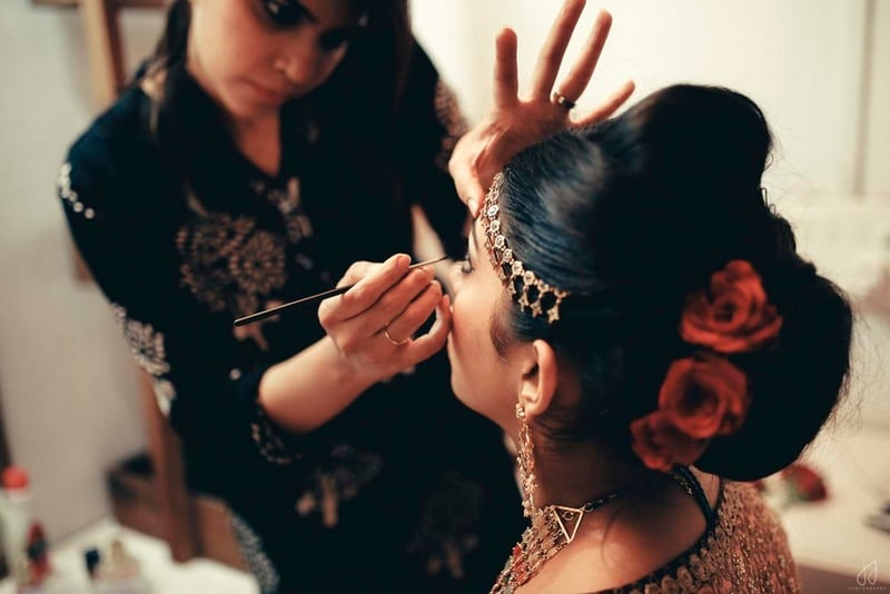 the makeup shots!:amrapali jewellery, bhima jewellers, dolly j