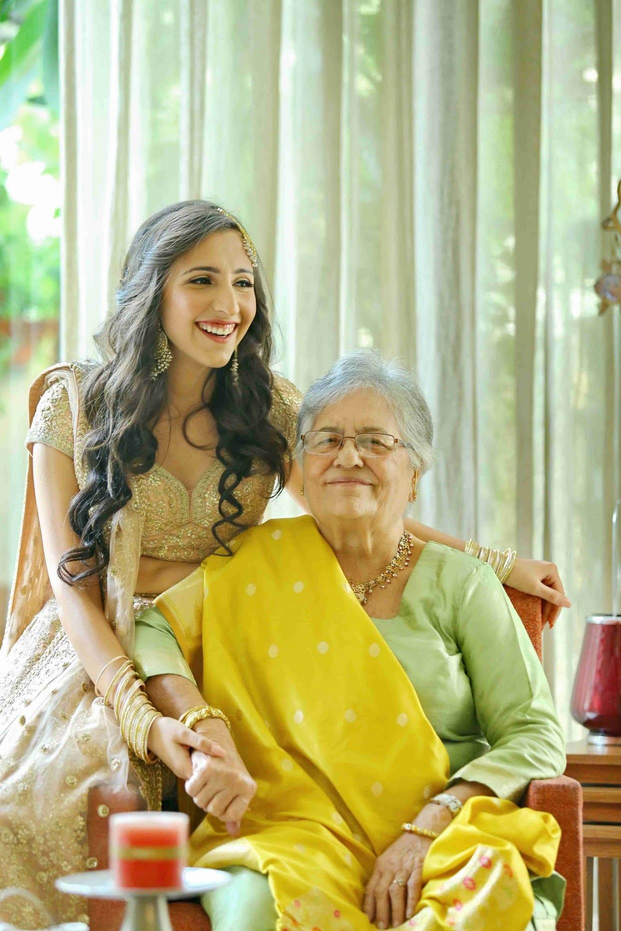 the sweet bride!:tarun tahiliani, rajkamal studio, jasmeet kapany hair and makeup