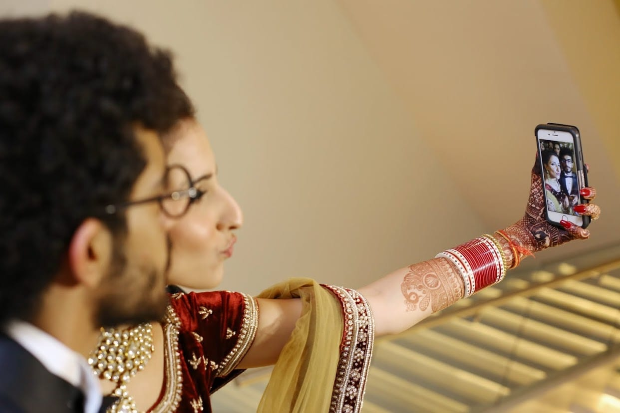 the perfect couple!:tarun tahiliani, rajkamal studio, jasmeet kapany hair and makeup