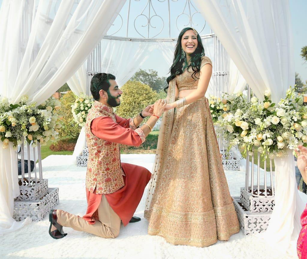 the cutest couple!:tarun tahiliani, rajkamal studio, jasmeet kapany hair and makeup