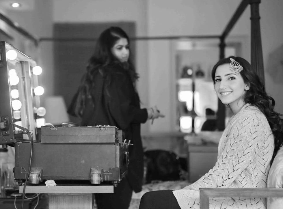 the glam wedding!:tarun tahiliani, rajkamal studio, jasmeet kapany hair and makeup