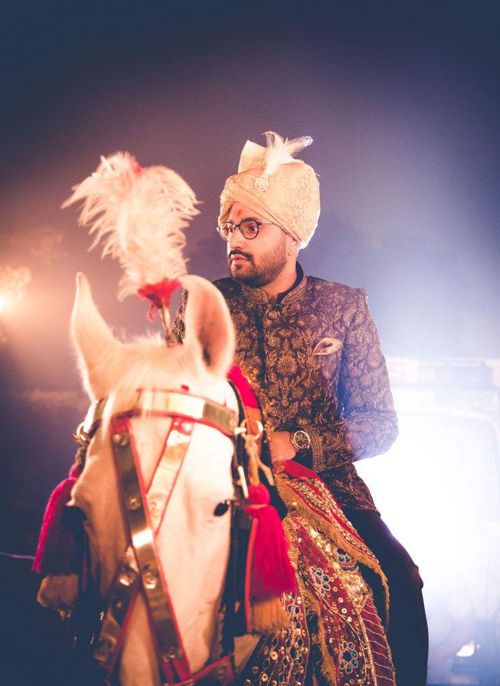 the handsome groom!:new variety decorators pvt ltd, diwan saheb, mahima bhatia photography