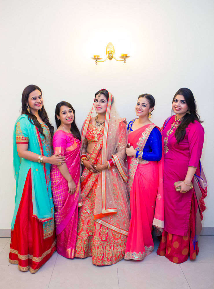 the bridesmaid shoot!:new variety decorators pvt ltd, diwan saheb, mahima bhatia photography