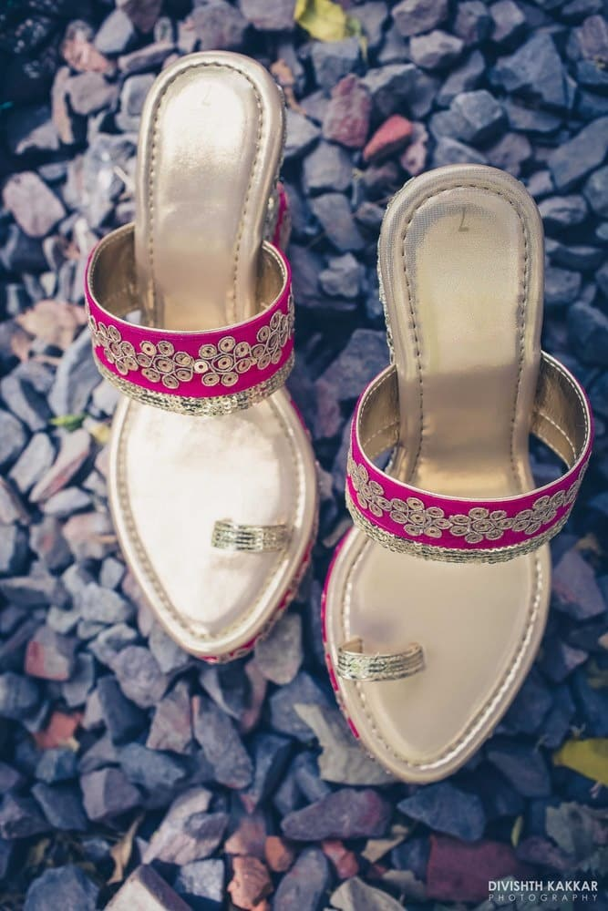 the bridal footwear!:pakeeza plaza, divishth kakkar photography