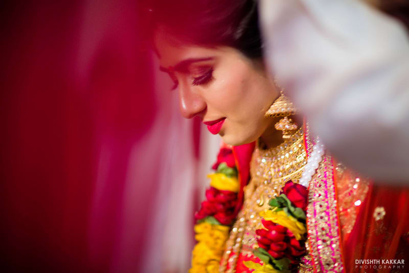 the pretty bride!:pakeeza plaza, divishth kakkar photography