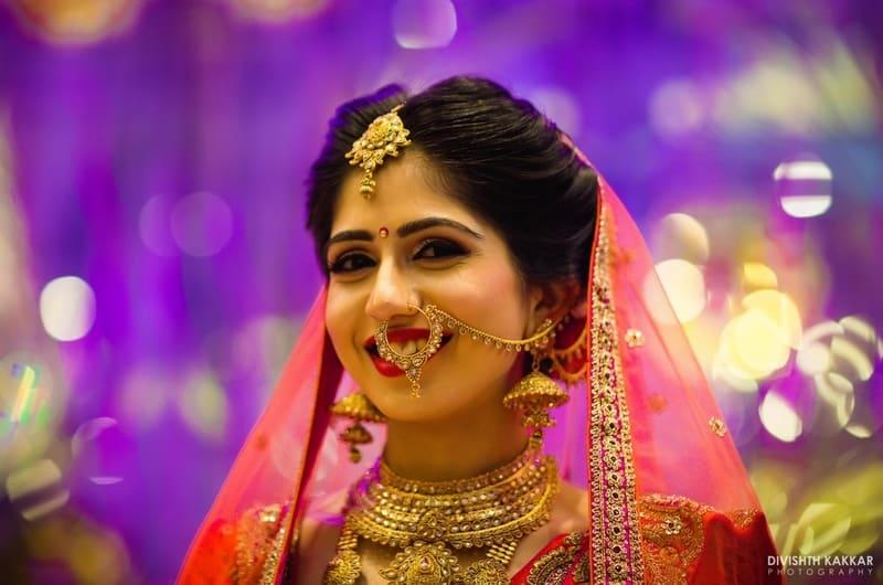 the gorgeous bride!:pakeeza plaza, divishth kakkar photography