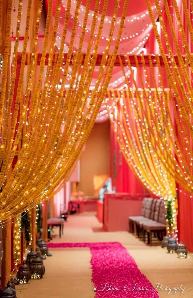 the mesmerizing wedding decor!:shri ram hari ram jewellers, hyatt regency delhi, taj palace, bhumi and simran photography, manish malhotra, elements decor, anu kaushik makeup artist, shantanu and nikhil, sabyasachi couture pvt ltd
