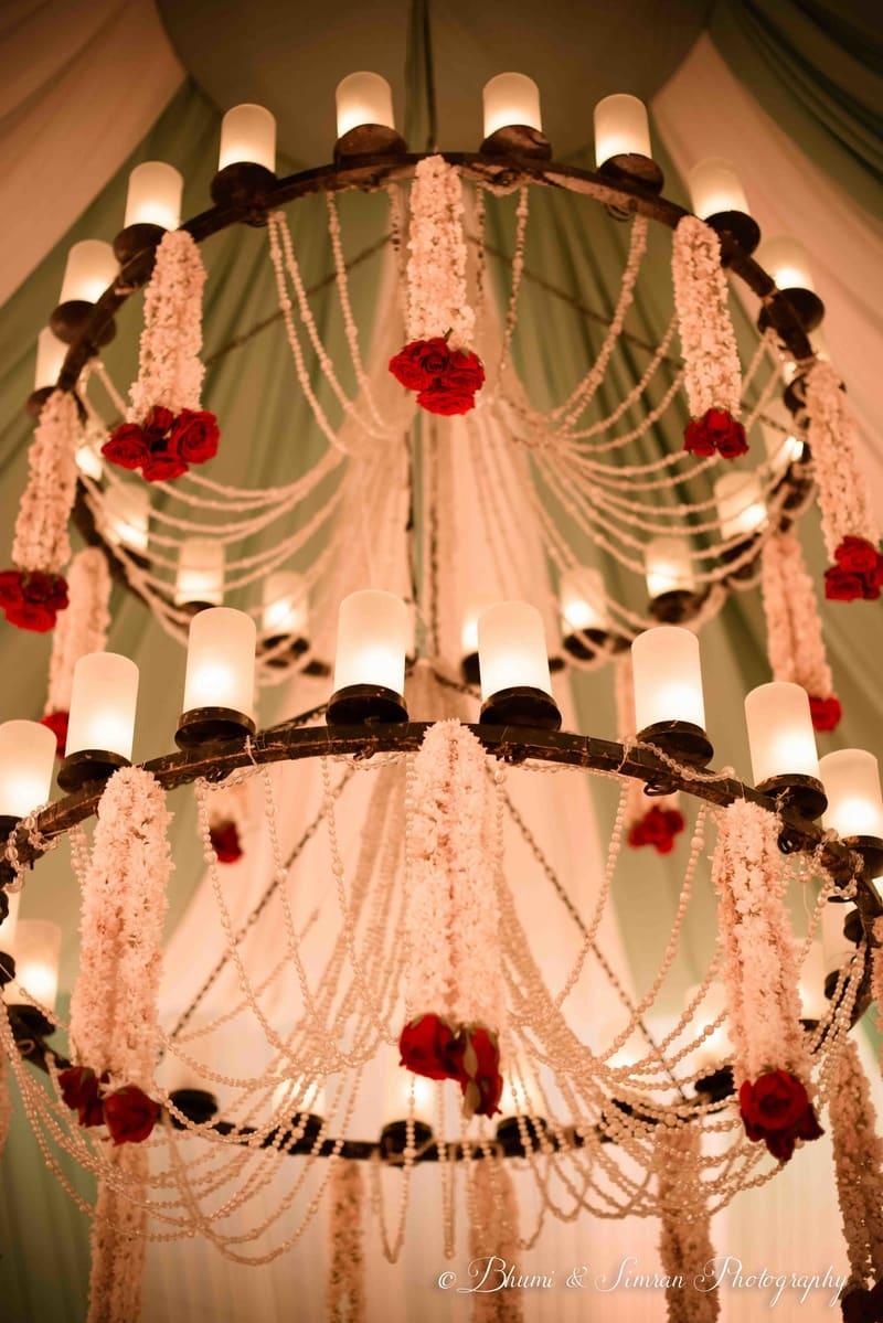 the wedding decoration!:shri ram hari ram jewellers, hyatt regency delhi, taj palace, bhumi and simran photography, manish malhotra, elements decor, anu kaushik makeup artist, shantanu and nikhil, sabyasachi couture pvt ltd