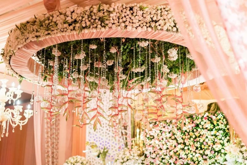 the mesmerizing wedding decor!:shri ram hari ram jewellers, hyatt regency delhi, taj palace, bhumi and simran photography, manish malhotra, elements decor, anu kaushik makeup artist, shantanu and nikhil, sabyasachi couture pvt ltd