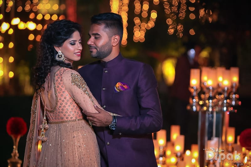 the bride & groom!:rakyans fine jewellery, dipak studio and colour lab pvt ltd, saltt catering, house of design, sabyasachi couture pvt ltd, devika sakhuja