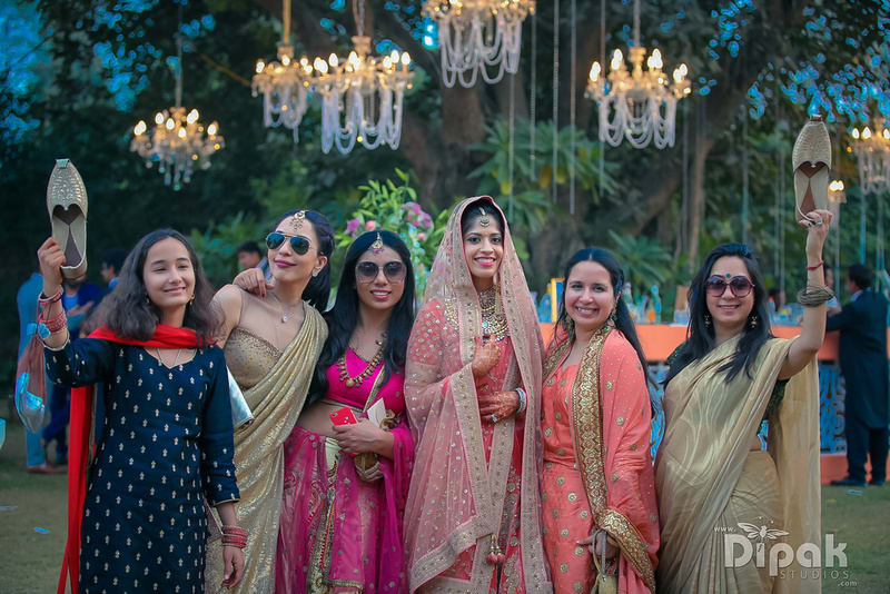 the bridesmaid shoot!:rakyans fine jewellery, dipak studio and colour lab pvt ltd, saltt catering, house of design, sabyasachi couture pvt ltd, devika sakhuja