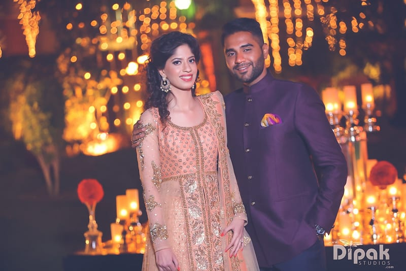 the couple!:rakyans fine jewellery, dipak studio and colour lab pvt ltd, saltt catering, house of design, sabyasachi couture pvt ltd, devika sakhuja