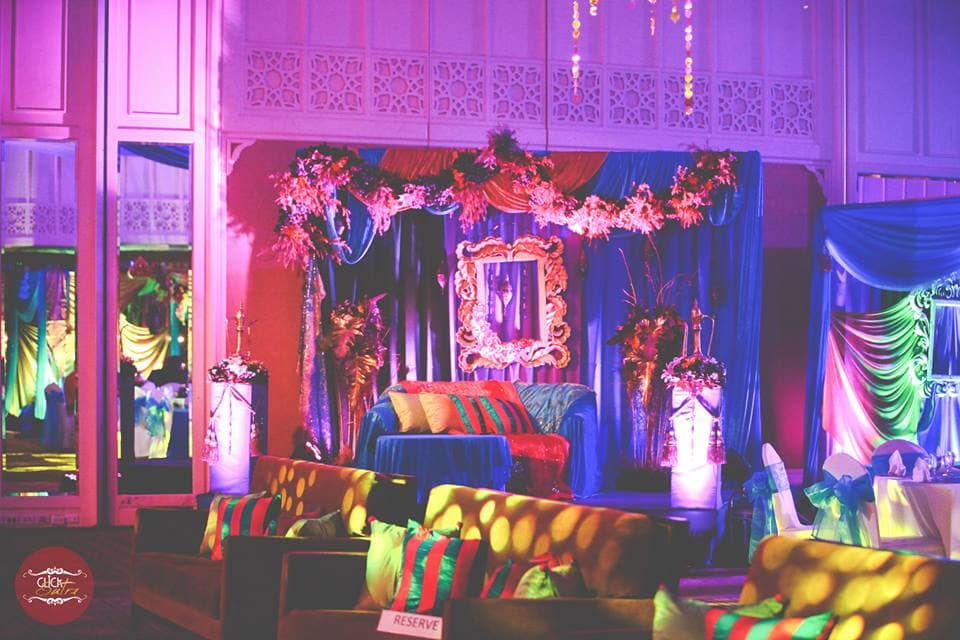 sangeet decoration:click sutra