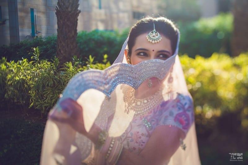 the bride masoom!:abu jani sandeep khosla, manish malhotra, tarun tahiliani, aza fashion pvt ltd, weddingnama