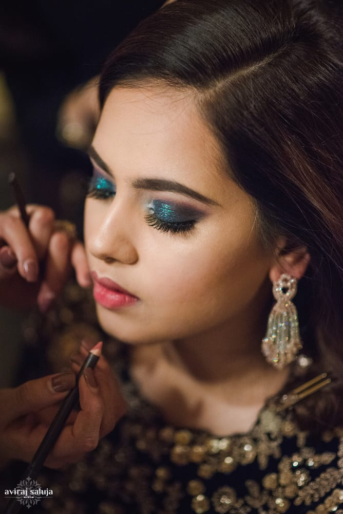 the bride aayushi!:aviraj saluja, shyamal and bhumika, makeup by reema patil, sabyasachi couture pvt ltd, dolly j