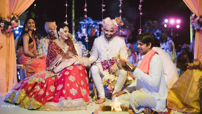 the wedding rituals!:aviraj saluja, shyamal and bhumika, makeup by reema patil, sabyasachi couture pvt ltd, dolly j