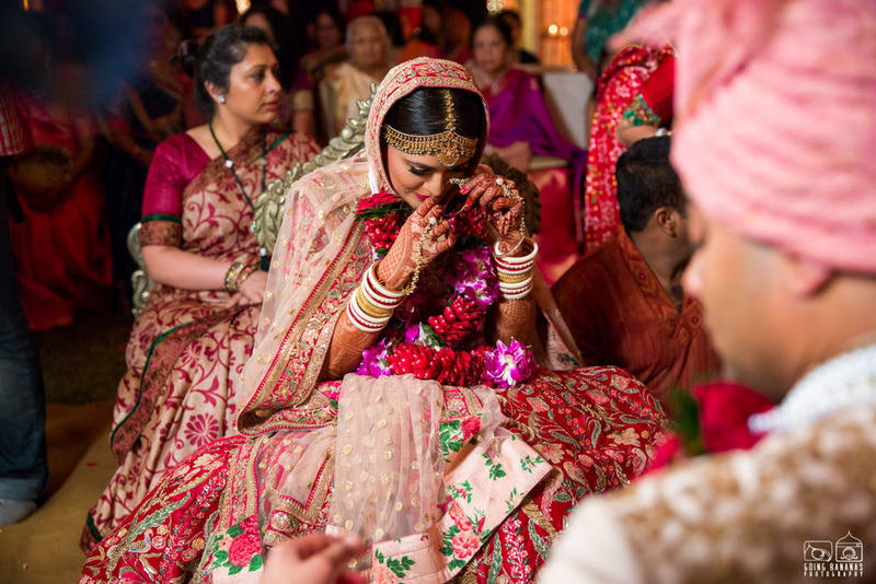 the beautiful bride!:the oberoi, going bananas photography, shruti sharma makeup artist, sabyasachi couture pvt ltd