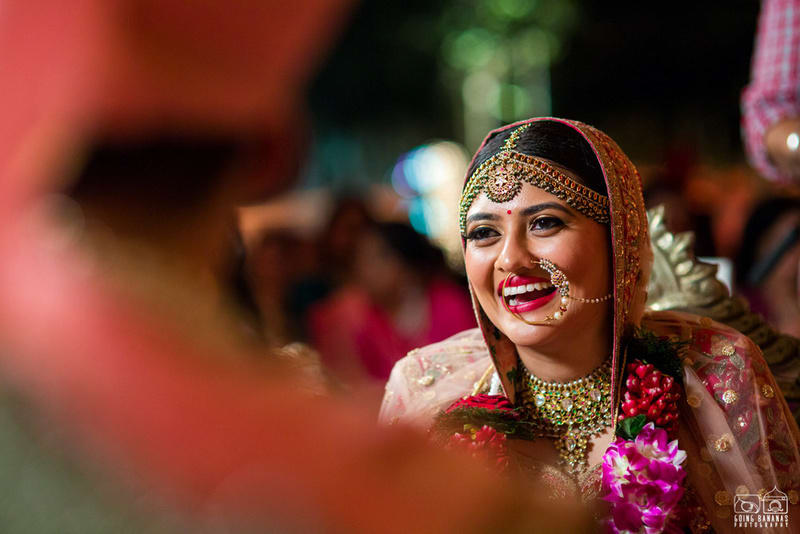 the bride kunali!:the oberoi, going bananas photography, shruti sharma makeup artist, sabyasachi couture pvt ltd