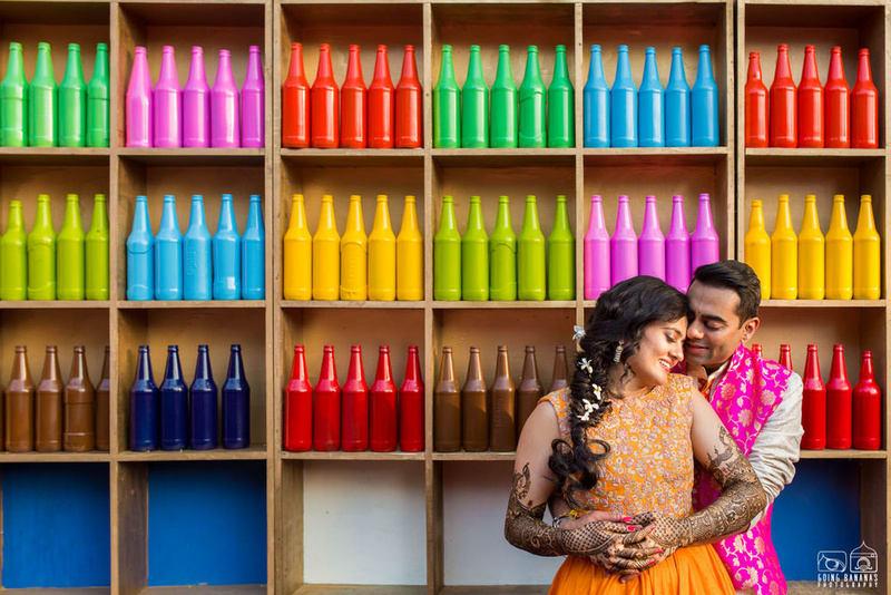 the lovebirds!:the oberoi, going bananas photography, shruti sharma makeup artist, sabyasachi couture pvt ltd