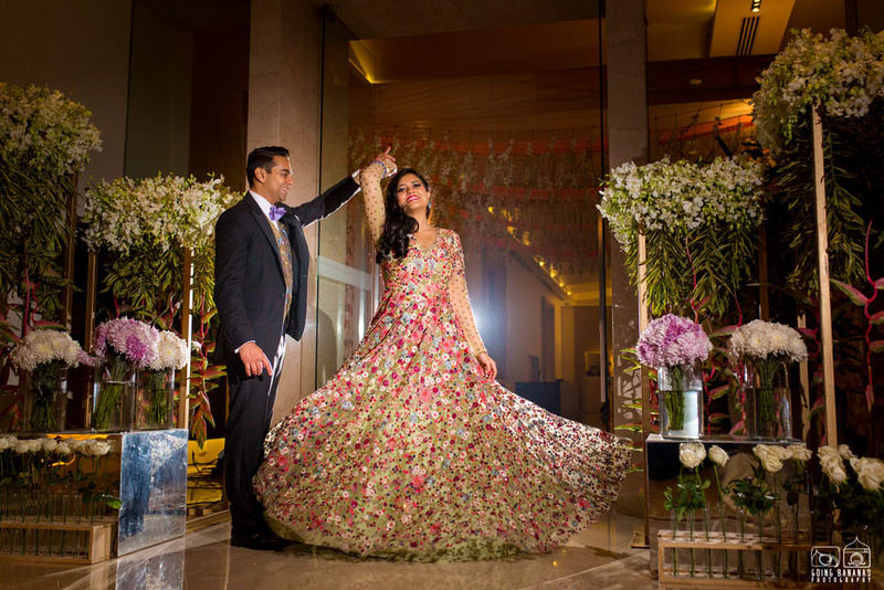 the lovebirds!:the oberoi, going bananas photography, shruti sharma makeup artist, sabyasachi couture pvt ltd