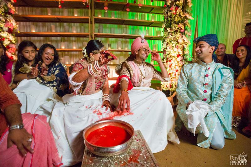 the wedding rituals!:the oberoi, going bananas photography, shruti sharma makeup artist, sabyasachi couture pvt ltd