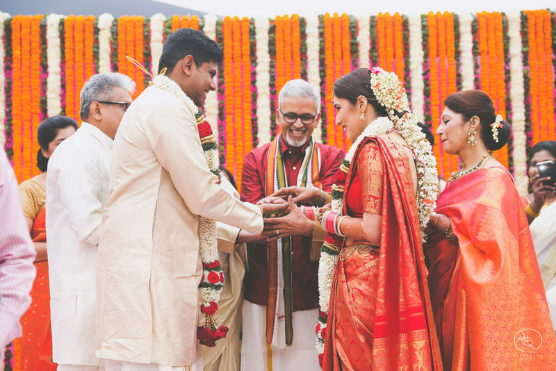 the wedding ceremony!:country inn and suites, lakshya manwani photography, om parkash jawahar lal, isha khanna makeup artist